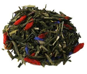 Grönt te smaksatt med Goji och Granatäpple