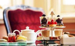 Godsaker från kensington hotel afternoon tea