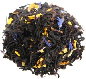 C.C.Manhattan- svart te smaksatt med Champagne och Jordgubb.