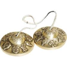 Tibetanska Tingsha klockor