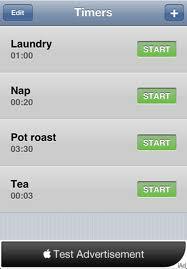 Timer+ app för iPad och iPhone