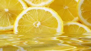 Citron till grönt te