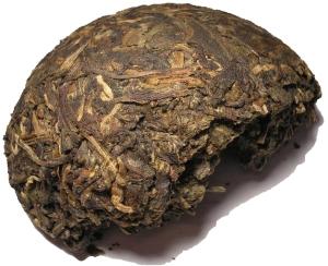 Pu-Erh Te från Yunnan i Kina