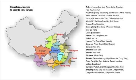 Kinesiska te-distrikt